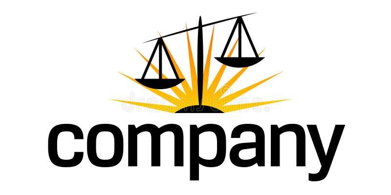 маштабы логоса дела законные иллюстрация штока