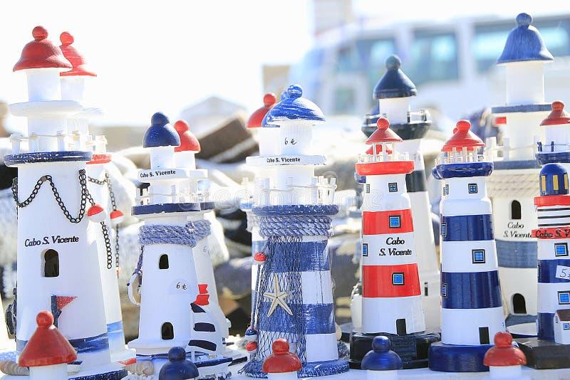 маяки стоковая фотография