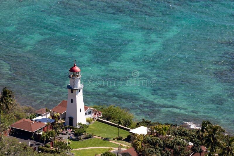 Маяк Гонолулу Гаваи диаманта главный стоковые изображения