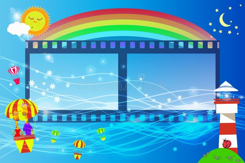 Маяк кино детей s рамки fotografmy бесплатная иллюстрация