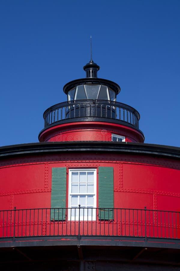 маяк крупного плана стоковая фотография rf