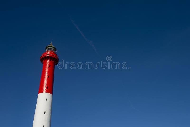Маяк Ла Coubre, Ла Tremblade, Шаранта-морского, Франции, ЕС, Европы стоковые фото