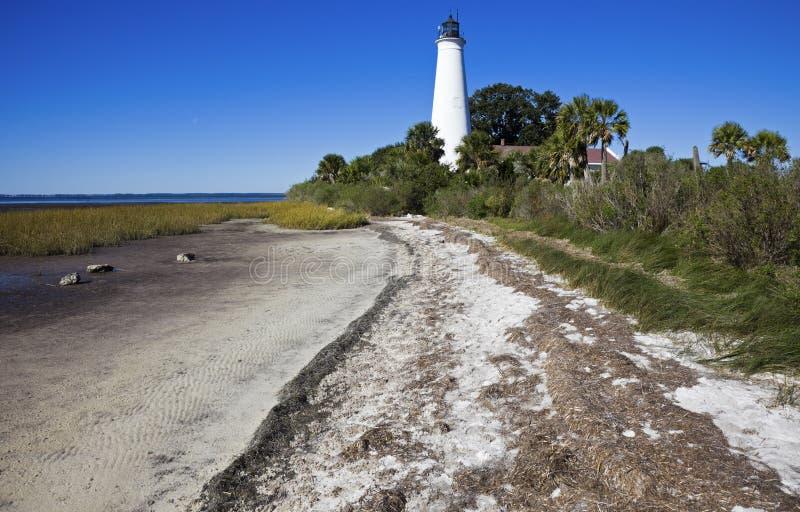 маяк маркирует st стоковые фотографии rf
