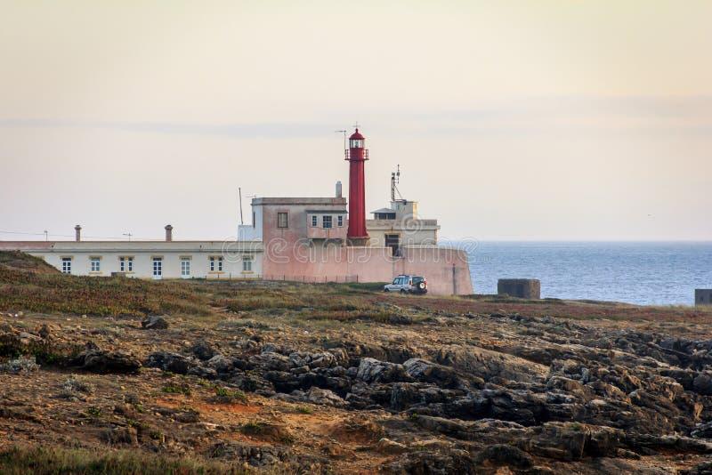 маяк Португалия стоковая фотография