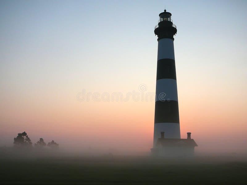 маяк рассвета стоковая фотография rf