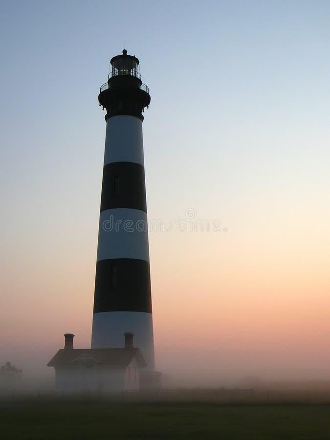 маяк рассвета стоковое изображение rf
