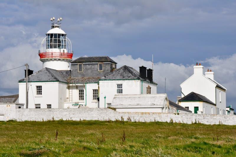 Download Маяк скал головы петли, Ирландия Стоковое Фото - изображение насчитывающей маяк, бело: 40575420