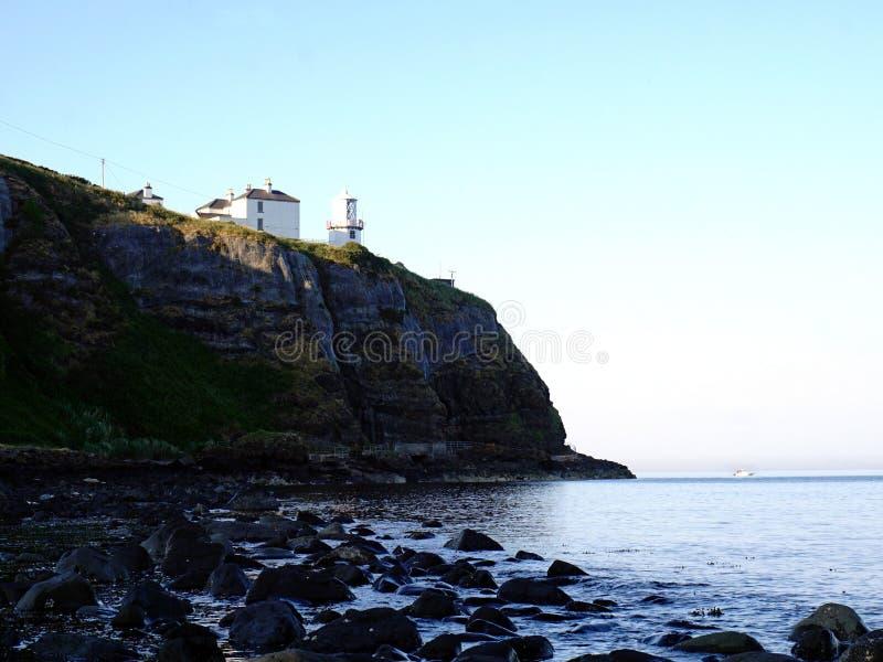Маяк угорь, Северная Ирландия стоковые фотографии rf