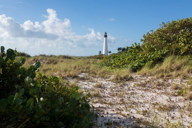 Маяк Флориды плащи-накидк в Билле Baggs стоковое фото