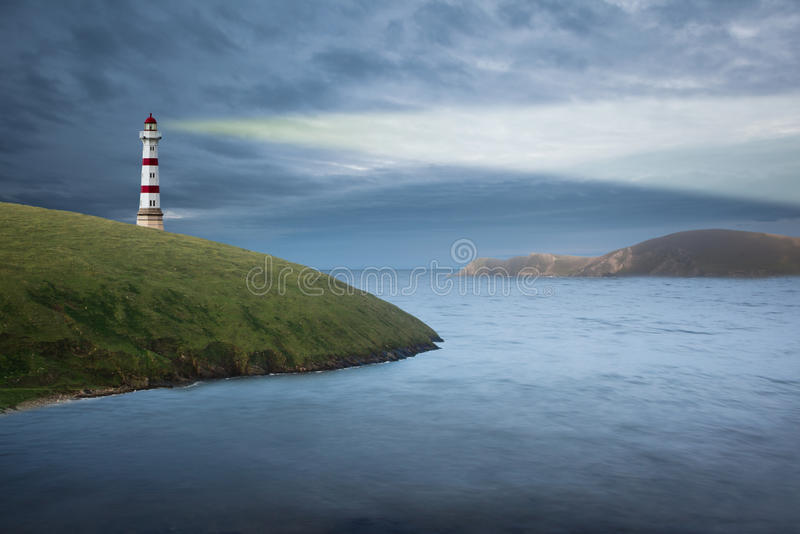 маяк стоковое изображение