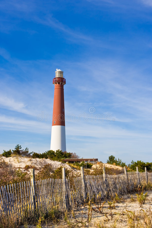 маяк barnegat стоковые фото