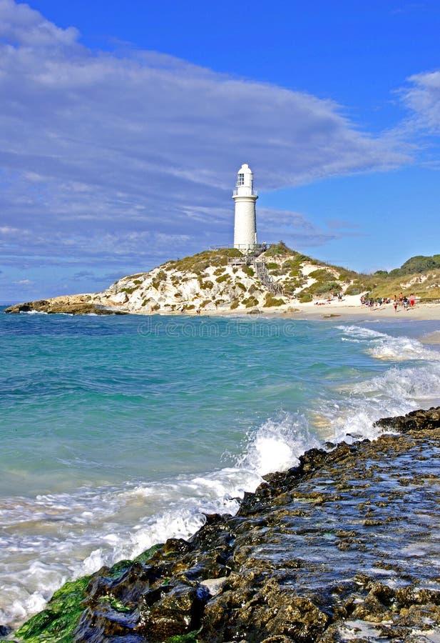 Маяк Bathurst, западная Австралия стоковое изображение rf