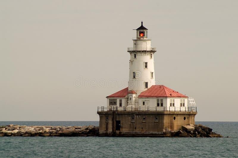 маяк chicago стоковые фото