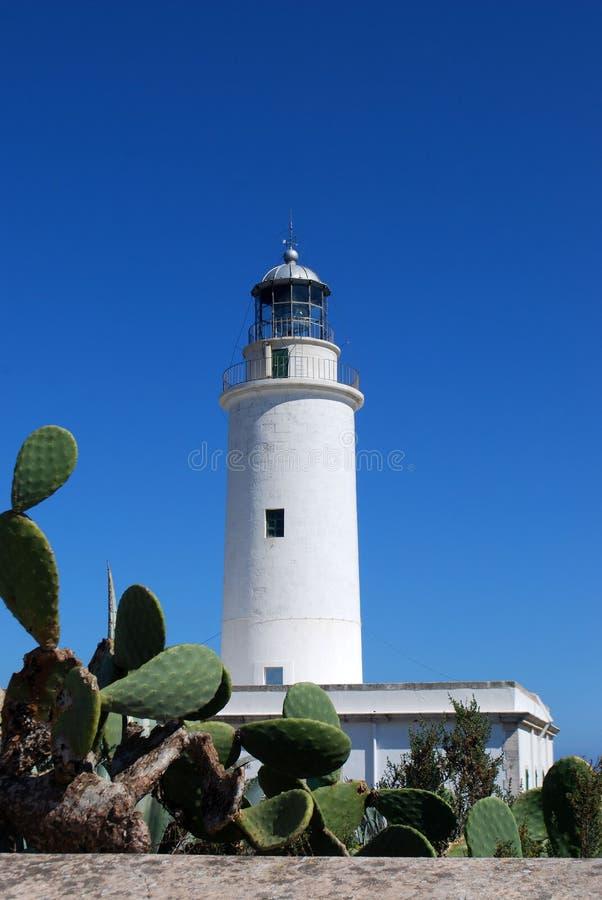 маяк formentera стоковые фото