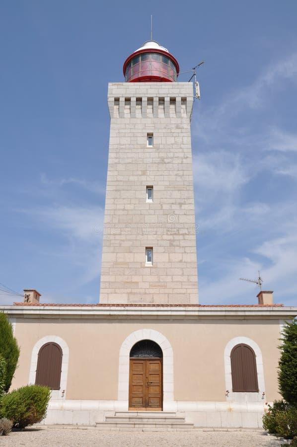 Маяк Garoupe, старый маяк стоковые фото