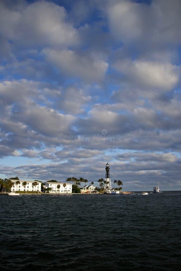 маяк hillsboro стоковое фото