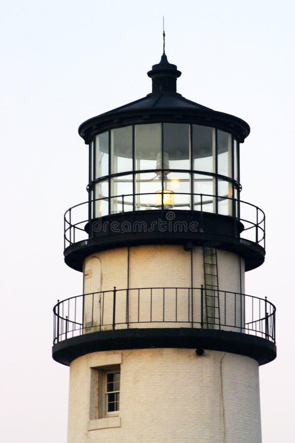 маяк massachusetts трески плащи-накидк 1816 маяков установленный первый исторический светлый одна башня rubblestone гонки пункта  стоковое фото rf