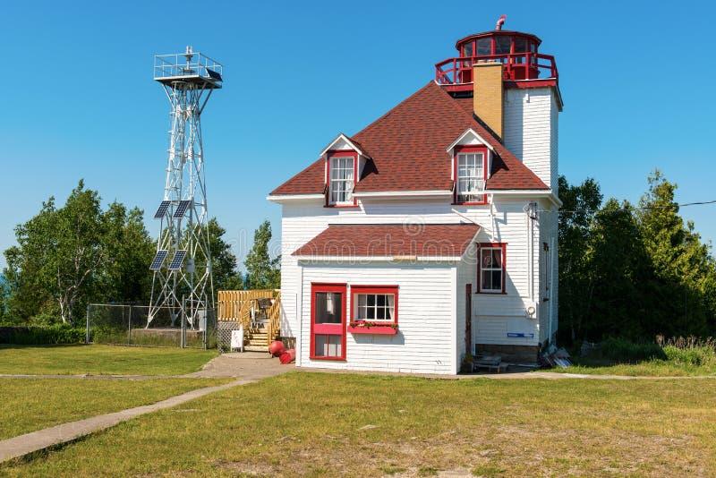 маяк ontario Канады cabot головной стоковое фото rf