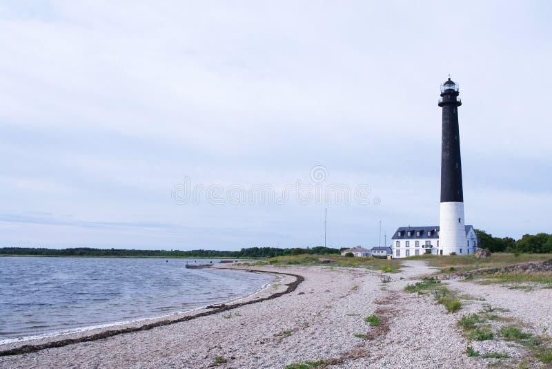 Маяк Saaremaa стоковая фотография