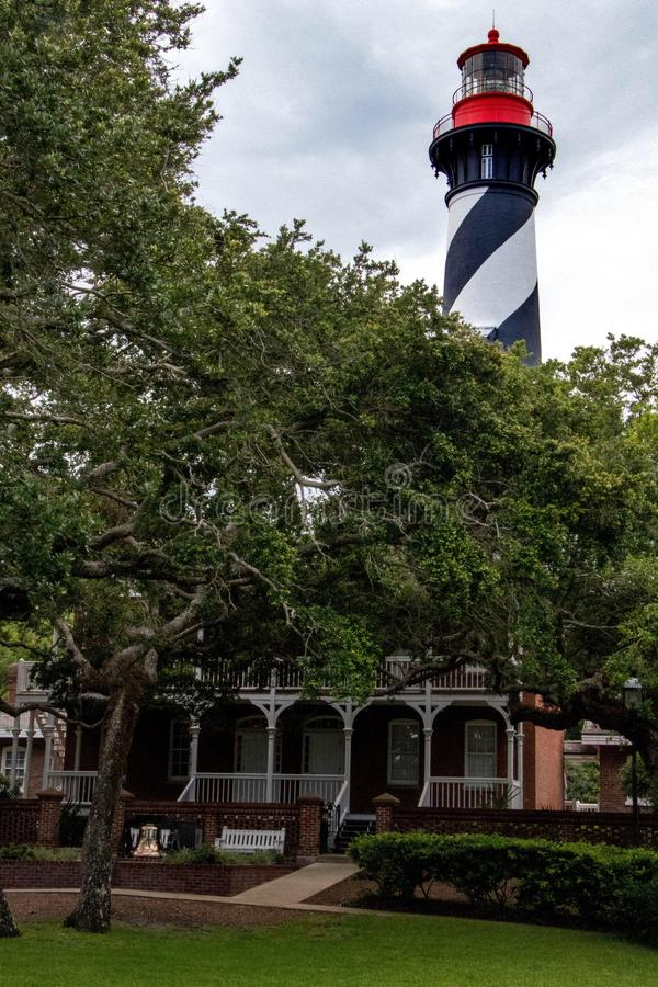 Маяк St Augustine стоковое фото rf