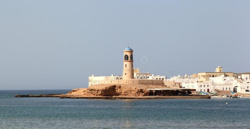 Маяк Sur, Оман стоковое фото