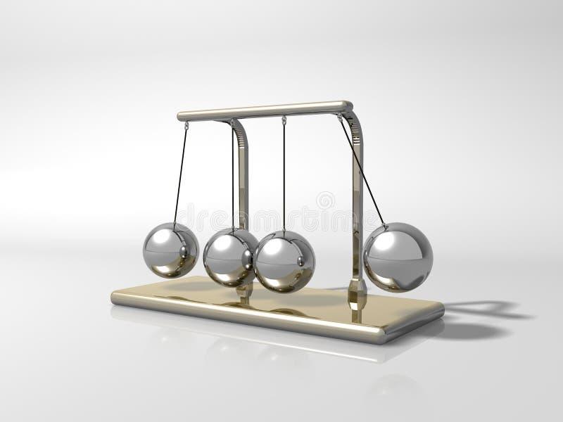 маятник иллюстрация вектора