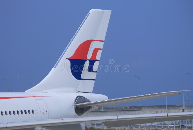 Малайзийские авиакомпании стоковое фото