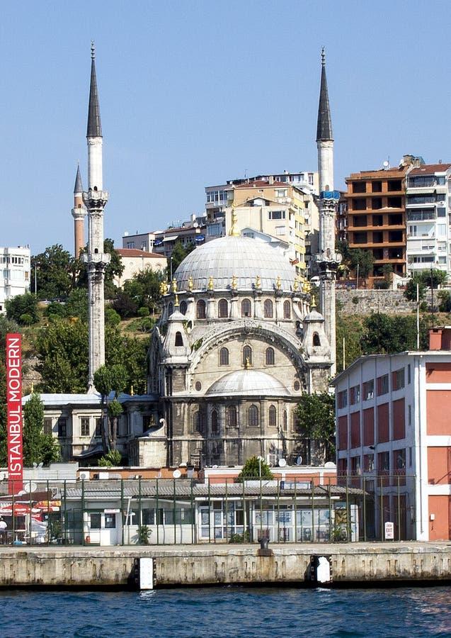 Малая мечеть азиатская бортовая Турция стоковое фото rf
