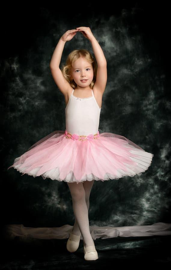 Маленькая балерина стоковое фото rf