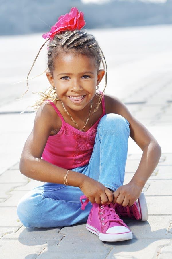 Маленькая девочка моды стоковые изображения