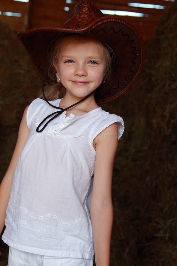 Маленькая девочка Smiley стоковое фото