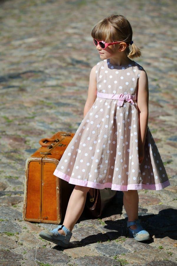 Маленькая девушка манекена стоковое фото rf
