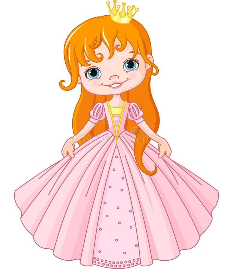 Маленькая принцесса иллюстрация вектора