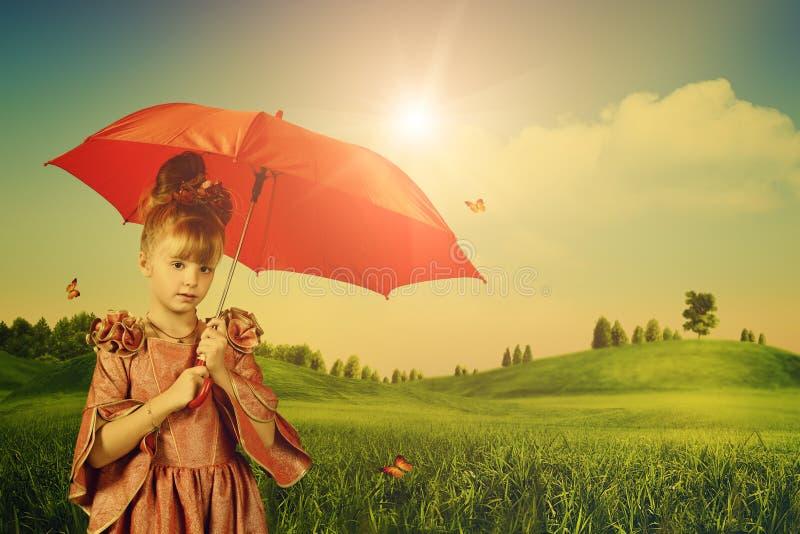 Маленькая принцесса стоковые изображения rf