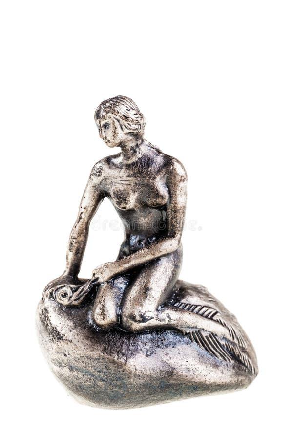 Маленькая статуя Mermaid стоковые изображения