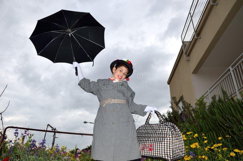 Маленькая Mary Poppins стоковое фото