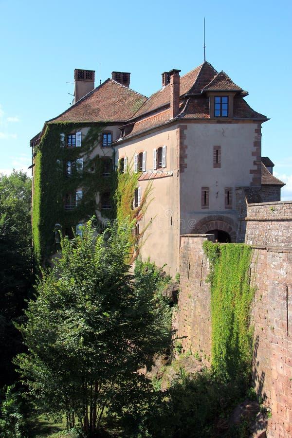 Маленькая-Pierre в Эльзасе стоковые изображения