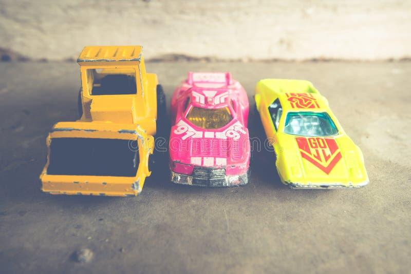 Маленькие автомобили стоковая фотография rf