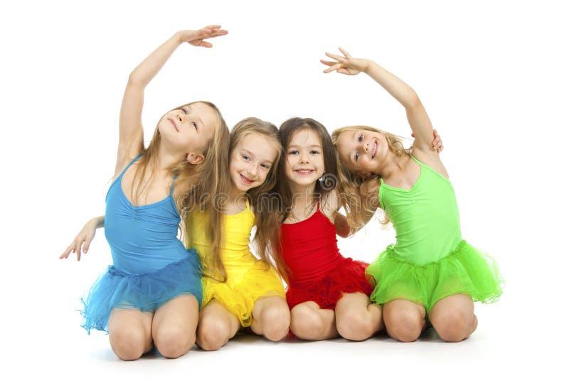 Маленькие артисти балета стоковые изображения