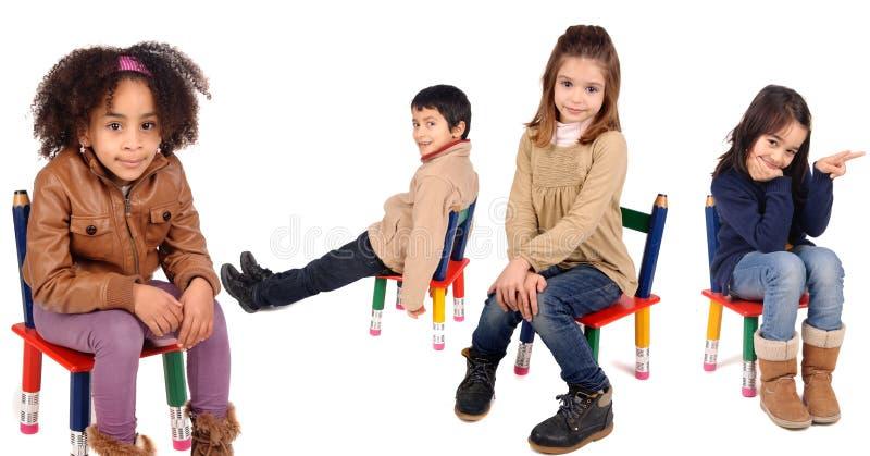 Маленькие ребеята стоковая фотография rf