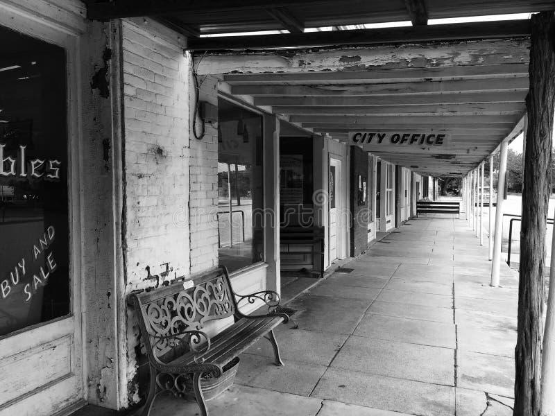 Маленький город Техас стоковые изображения