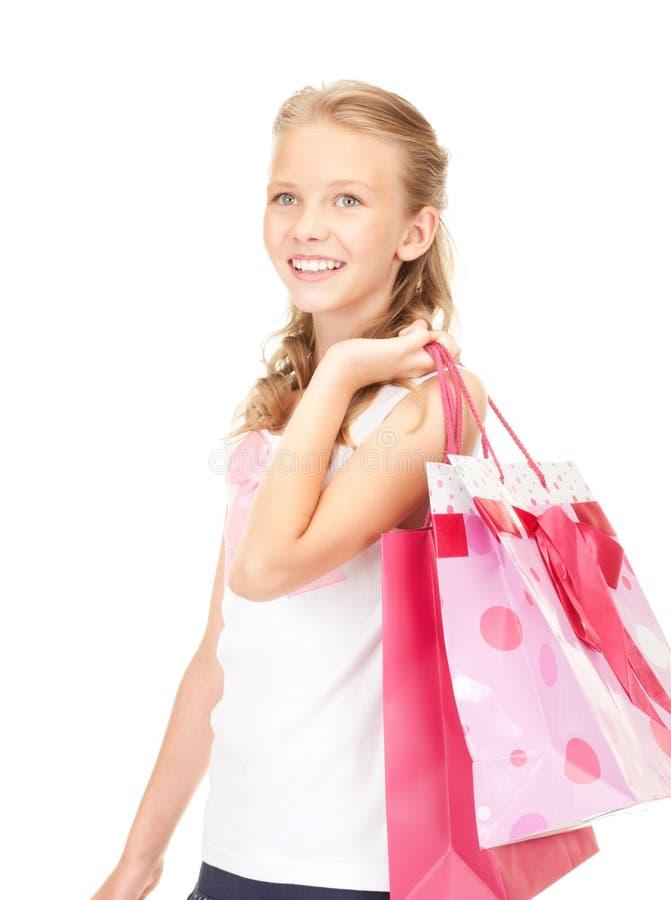 Маленький покупатель стоковые фотографии rf