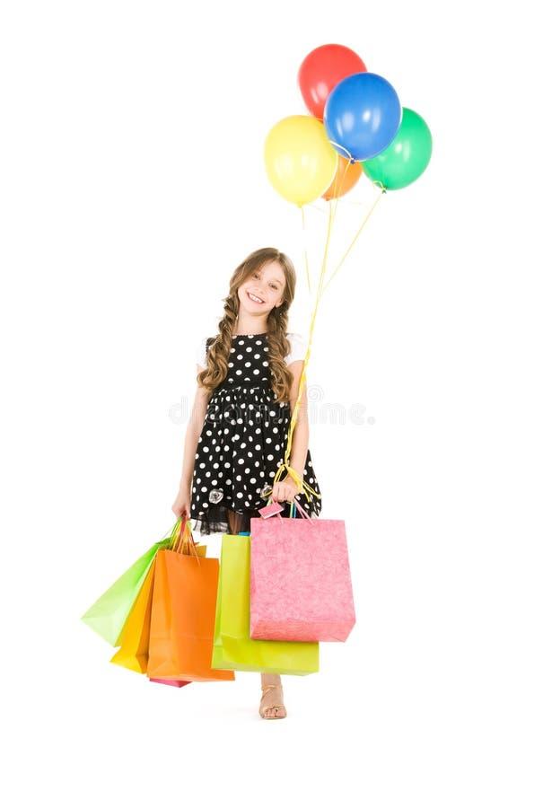 Маленький покупатель стоковая фотография
