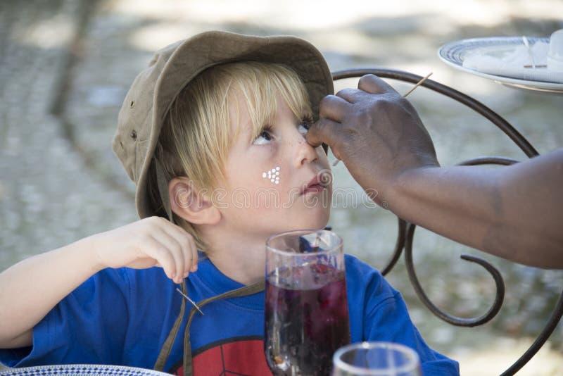 Маленький ратник стоковая фотография