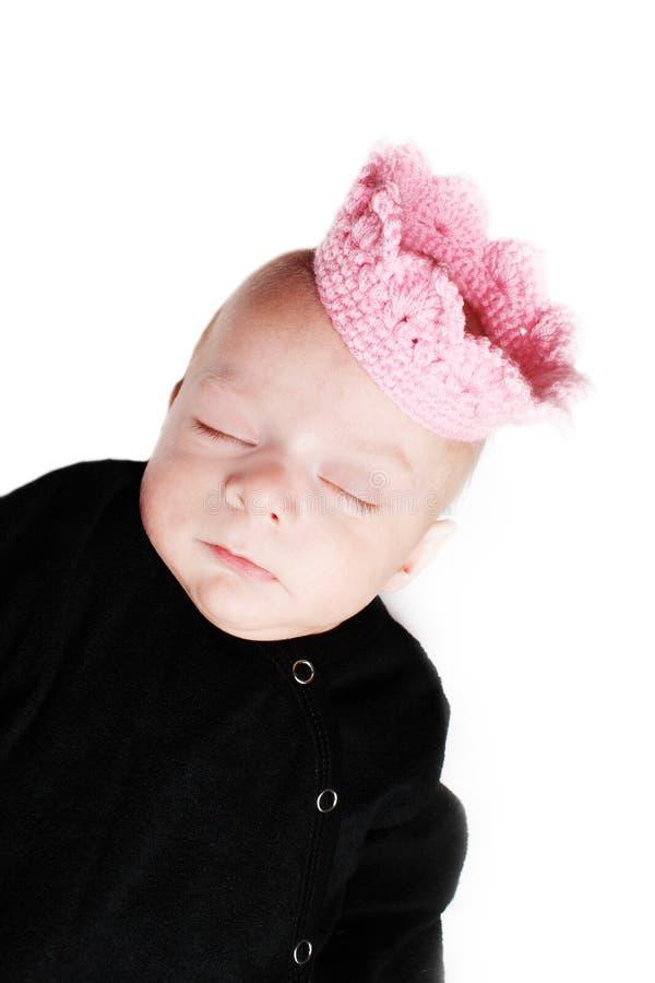 Маленький спать принца стоковые фотографии rf