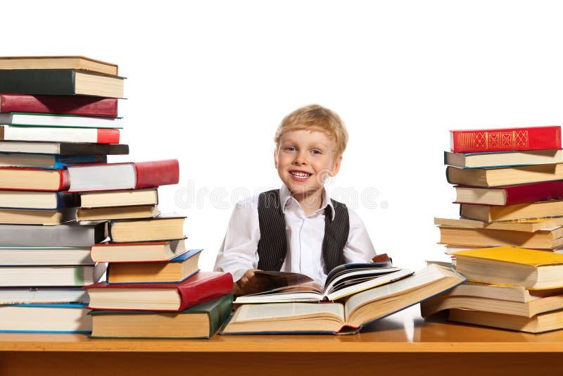 маленький читатель стоковое фото rf
