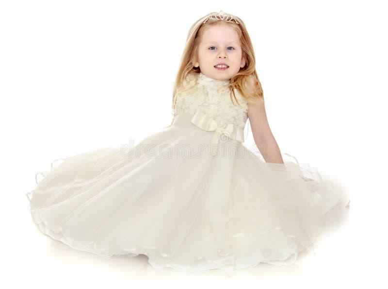 маленький princess стоковые фотографии rf