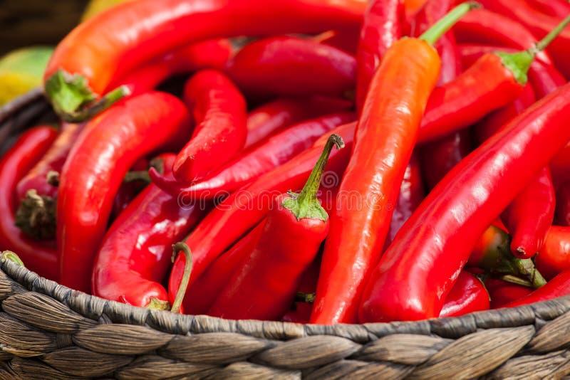 малое перцев chili красное стоковое изображение