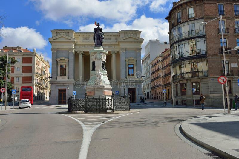 Мадрид стоковая фотография