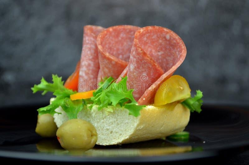 Малые сандвичи партии стоковая фотография rf